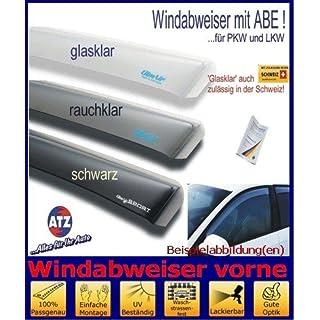 ClimAir Windabweiser vorne (mit ABE) 03-3731D, Farbausführung: schwarz