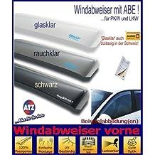 Climair ABE Windabweiser Glasklar vorn Mercedes Viano 2 Vito 2 Typ W639 1 Paar