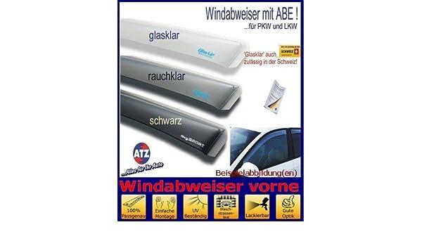 Tuning-Pro ClimAir Windabweiser vorne 03-3858 mit ABE Farbausf/ührung: schwarz