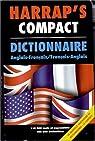 Harrap's Compact Dictionnaire Anglais-Français, Français-Anglais par Harrap's