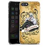 DeinDesign Apple iPhone 7 Hülle Case Handyhülle Disney Arielle Die Meerjungfrau Ursula Geschenke Merchandise
