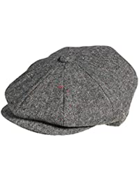 5f04dccce9e5a Amazon.co.uk  Grey - Flat Caps   Hats   Caps  Clothing