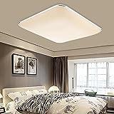 Hengda® LED Deckenleuchte Deckenlampe Leuchte Modern Angenehmes Licht für Korridor Esszimmer Wohnzimmer (64W Warmweiß)