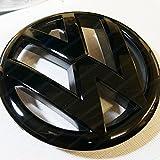 Logo emblème brillant Volkswagen noir 135 mm pour MK6 Volkswagen Golf VI HB6L2