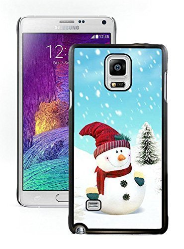 best-buy-christmas-snowman-black-samsung-galaxy-note-4-case-5