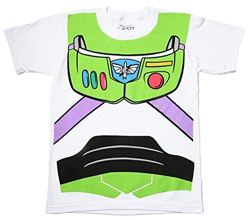 Toy Story Buzz Lightyear Astronaut Kostüm weiß T-Shirt (Kleinkind 3T)