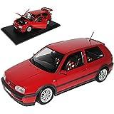 VW Volkswagen Golf III GTI Rot 3 Türer 20 Jahre Edition 1991-1997 1/18 Norev Modell Auto mit oder ohne individiuellem Wunschkennzeichen