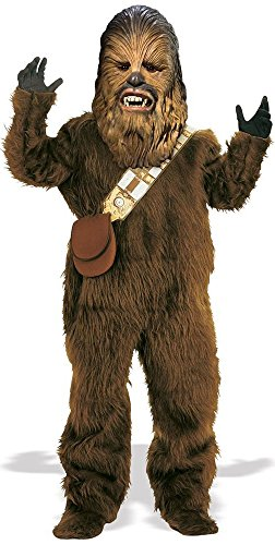 Fancy Me Kids Boys Girls Deluxe Fur Chewbacca Star Wars Book Day Halloween Fancy Dress Costume Outfit 3-10 years (8-10 years)