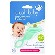 Brush-baby Soft Teether Brush for babies and toddlers