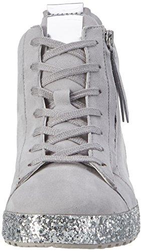 Gabor Shoes Comfort, Scarpe da Ginnastica Basse Donna Grigio (lightgreykristall)