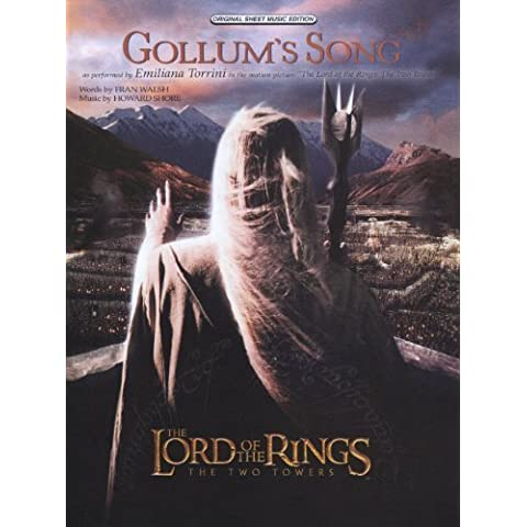 Gollum's Song (from The Lord of the Rings: The Two Towers) Sheet Music Piano/Vocal/Chords by Alfred Publishing