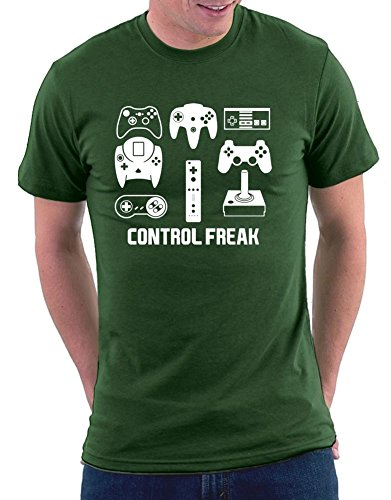Control Freak T-shirt Bottlegreen