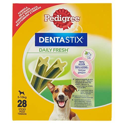 Pedigree Dentastixtm Fresh Snack per l'Igiene Orale (Cane Piccolo 5-10 kg) - 28 Pezzi