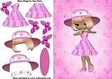 Sol Sombrero Rosa Chica por Amy Perry
