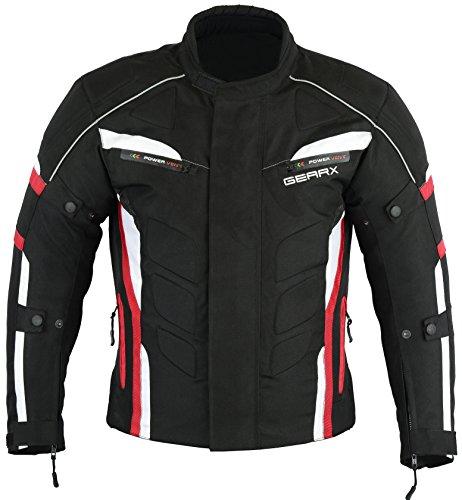 Giacca da moto Velocity Fashion impermeabile traspirante, XL