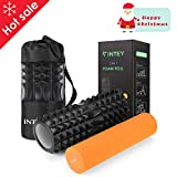 INTEY Foam Roller Rouleau Massage Kit de 2 en Mousse pour Massage en...