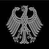 Drapeau Bundestrauerstander   0.06qm pour Diplomat-Flags Drapeau de Voiture