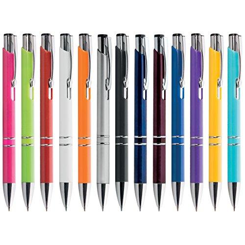 Penne personalizzabili personalizzate con nome logo o slogan gadget promozionali - vivid pd194 - 100 pezzi stampa 1 colore