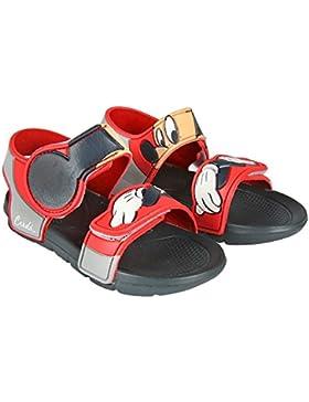 Cars Sandalias de Vestir de Goma Para Niño Rojo Rojo