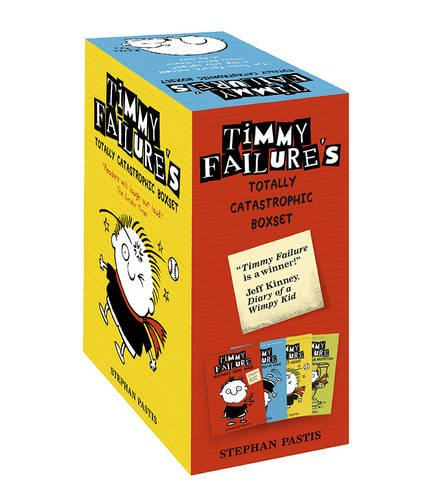 Timmy Failure Totally Catastrophic Boxset por Stephan Pastis