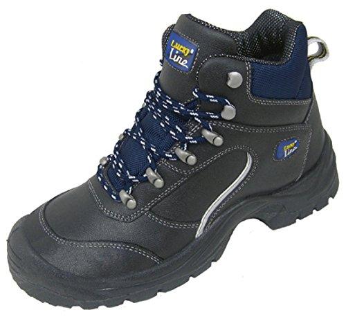 Lucky Line  Zittau, Chaussures de sécurité pour homme - Gris - Gris, 41 EU