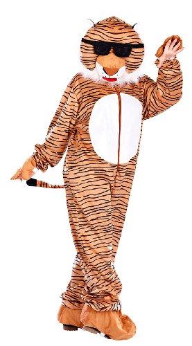 infactory Kostüme: Halloween- & Faschingskostüm Tiger mit Brille (Halloween Kostüm Tiger Für)