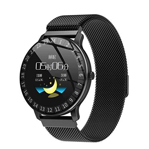Bestyyo R80 Smartwatch Smart Watch Android iOS Sport Fitness Kalorien Armband Wear Smart Watch 1.3 Zoll Zinklegierungüberzug SMS Whatsapp Facebook Twitter (R80)