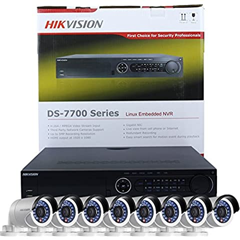 Hikvision DS-7732NI-E4/16P UK Versione Inglese integrate 4 K 32 canali POE NVR