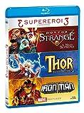 Tris Supereroi - Doctor Strange / Thor / Iron Man (3 Blu-Ray)