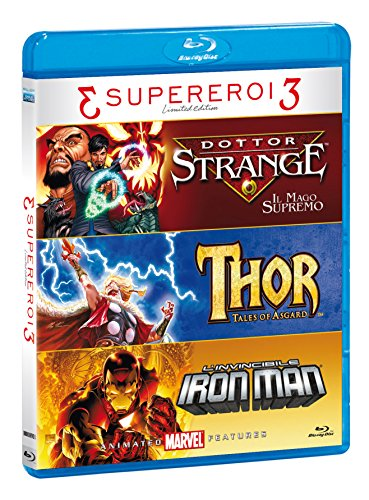 Tris Supereroi - Doctor Strange / Thor / Iron Man (3 Blu-Ray)