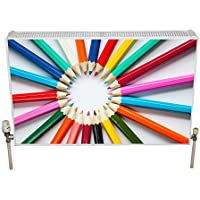 Radwraps nurspenswirl 1500 x 600 mm Nursery Radiador Covers – Multicolor