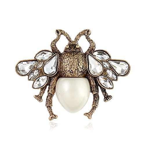 SODIAL Vintage Biene Pin Brosche Modeschmuck Anstecknadel