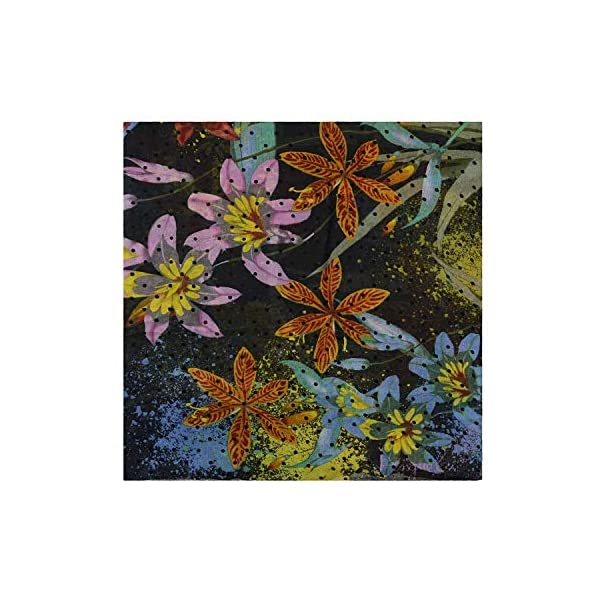 Desigual Foulard Tiger Flower Multicolor de Mujer.