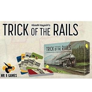 Mr. B Games MBG01020 Trick of The Rails - Juego de Mesa (Contenido en alemán)