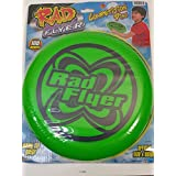Rad Flyer Green Competition Disc 180 Grams Words On Frisbee With Official Size & Weight Flying Disc Toy