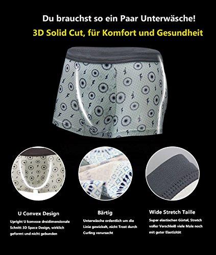 VENI MASEE® Sexy Sport Modal Unterwäsche der Herren Kurze Mehrfarbig13