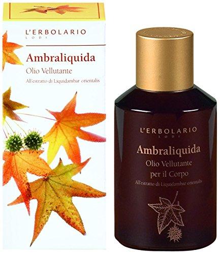 L'Erbolario Ambraliquida Körperöl für weiche Haut, 1er Pack (1 x 125 ml)