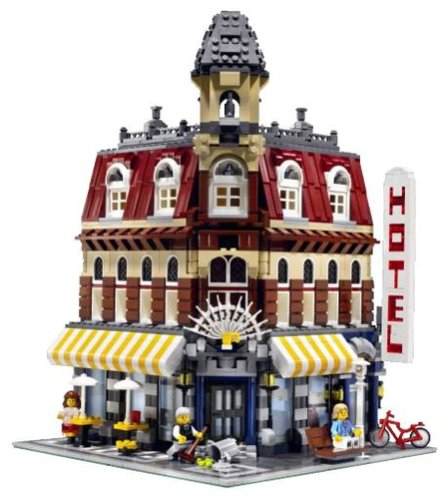 Lego 10182 Cafe´ Corner (Lego Hotel)