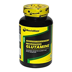 MuscleBlaze Micronized Glutamine, 100 g