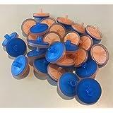 Jeringa filtro, Micr Micropur, GF/Pet, 25mm, 0,20µm, PP Carcasa de