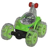 سيارة جنونية ثلاثية الابعاد مع جهاز تحكم عن بعد باللون الاخضر- طراز XZ244