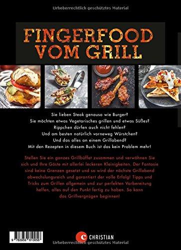 51IudYcFLHL - Fingerfood Grillen: Heiße Happen auf die Hand. Das Grillbuch mit vielen tollen Rezepten für Snacks und Fingerfood vom Grill, perfekt für die nächste Party oder den gemütlichen Abend zuhause!