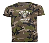 Steige Hoch-Du Roter Adler-Märkische Heide Brandenburg Lied T-Shirt Camo2 XL