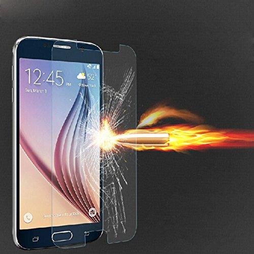 Displayschutzfolie, fcostume Explosionsgeschützte gehärtetem Glas Displayschutzfolie für Samsung Galaxy S6G9200 (Iphone 5s Fällen, Gorilla-glas)
