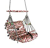 #4: Shreeji Multi Color Cotton Hanging Home Swing For Baby