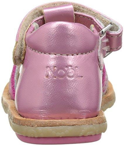 Noël Access Mini Serva, Sandales bébé fille Rose (Fushia)