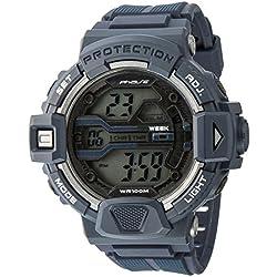 UPhasE Digital Watch Quartz Chronograph, 706-160 up