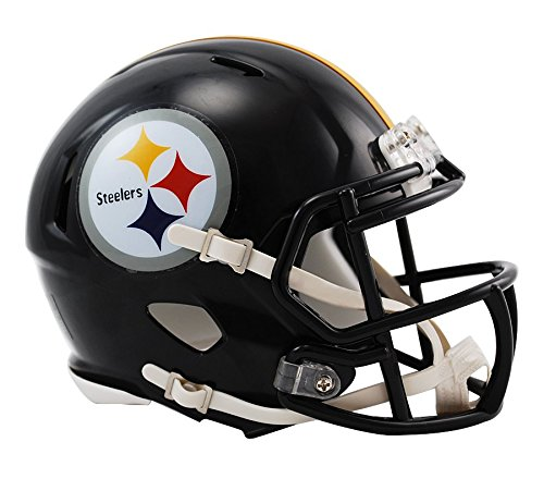 NFL Riddell Football Speed Mini Helm Pittsburgh Steelers Test