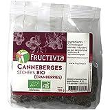 cranberries séchées infusées au jus de pomme bio 200g