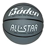 Best Basketball Balls - Baden Unisex Adult All Star Silver & White Review